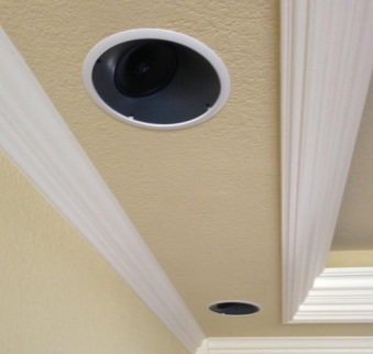 In ceiling speakers